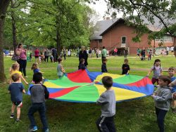 Scenes from Family Field Day