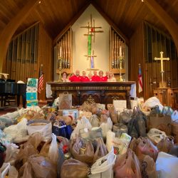 1st Sunday Food collection June 2020